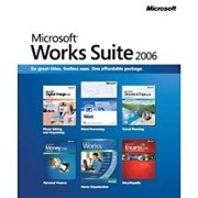 Microsoft Works Suite 2006 DVD Edition